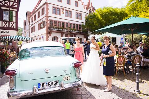 Hochzeitsfotograf Weinheim am Marktplatz