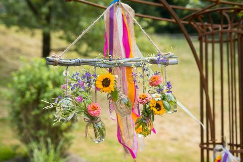 Hochzeit Hofugut Hohenstein Blumendeko